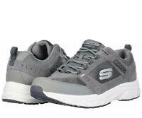 Skechers Mens  Oak Canyon Walking Shoes Relaxed Fit Memory Foam Gray