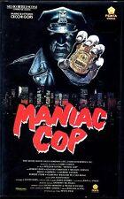 Maniac Cop (1990) VHS Pemta William Lustig Robert Davi, Claudia Christian UNICA