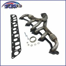 Exhaust Manifold & Gasket Kit Fits Wrangler Grand Cherokee 4.0L Stainless Steel
