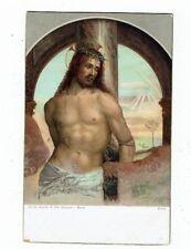 POST CARD MISCH & Co`s. CHRIST BOUND TO THE COLUMN--BAZZI