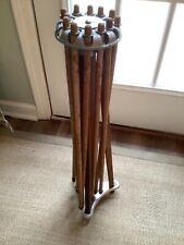 Vintage Clothes Tree Drying Rack Artmoore Company Milwaukee, WI 12 Arm Umbrella