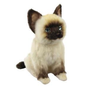 Rag Doll Kitten Cat Hansa Realistic Animal Plush Soft Toy 26cm L **FREE DELIVERY