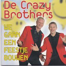 De Crazy Brothers-We Gaan Een Feestje Bouwen cd single