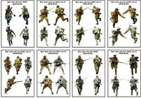 1/35 Resin WWII Soviet Officers Soldiers 8 Kit unpainted unassembled QJ101