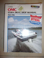 OMC FORD GM STERN DRIVE SHOP MANUAL 90 225 229 250 2.5L 3.0L +V8s 1964-1986 NEW