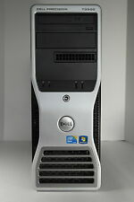 Dell Precision T3500 qc w3520 2.67ghz 4gb 160gb dvdrw raid nvidia 2000 win 7 dvi