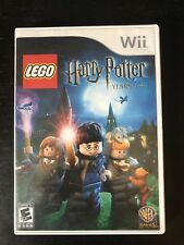 LEGO Harry Potter: Years 1-4 (Nintendo Wii, 2010) Complete Game