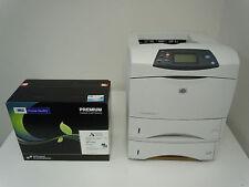 HP LASERJET 4250DN 4250DTN PRINTER +NEW COMP HP 42X Q5942X TONER & 6-MO WARRANTY