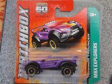 Matchbox 2013 #074/120 TERRAIN TROUNCER purple Explorers