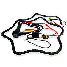 9006 HID Relay Wiring Harness for BI- Xenon Conversion Kit + (2) 50W Resistor