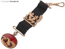 "Relojes de bolsillo remolque ""Jugendstil"" Chatelaine Mistel para aprox. 1900"