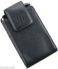 Oem Black Leather Case Cover Swivel Belt Clip Holster for Blackberry Cell Phones