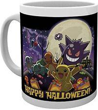 GB eye Pokemon, Happy Halloween Taza, Multicolor