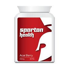 ACAI SPARTAN HEALTH ACAI BERRY PILLS TABLETS EXTREME FAT BURNER WEIGHT LOSS!!