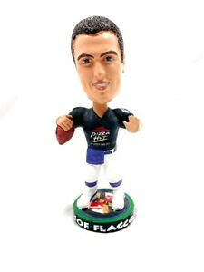H3-74 NFL BOBBLE HEAD - JOE FLACCO #5 BALTIMORE RAVENS - PIZZA HUT TEAM FLACCO