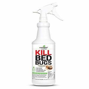 Bed Bug Spray Fast Acting Natural Organic Bed Bug Killer Home Pet Safe Treatment