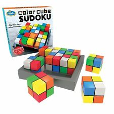 THINK FUN COLOUR CUBE SUDOKU 3D PUZZLE BY PAUL LAMOND GAMES - BRAND NEW & SEALED
