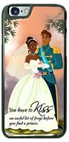 Disney Princess Tiana You have to kiss Phone Case Cover for iPhone Samsung etc