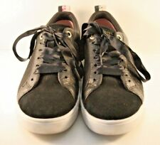 be07649ed2bef Ted Baker Black Suede   Leather Kulei Sneakers Womens Size US 8M