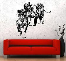Wall Vinyl Sticker Tigers Family Romantic Love Decor For Living Room z3660