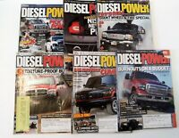Lot of 6 Diesel Power  The World's Largest Diesel Magazine Issues 2013 2014
