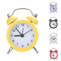 KQ_ JW_ CW_ EP_ Retro Classic Double Bell Mechanical Keywound Alarm Clock for Ho