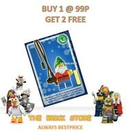 LEGO - #036 - GNOME - CREATE THE WORLD TRADING CARD - BESTPRICE + GIFT - NEW