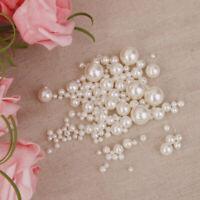 Spacer Perlen zum auffädeln Kunstperle Dekoperle Zwischenperlen Wachsperlen,