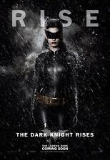 """The Dark Knight Rises movie poster  : 11"""" x 17"""" Catwoman poster"""