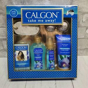 Calgon Take Me Away Morning Glory Gift Set Box 7 Pieces Body Mist Cream NEW