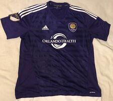 Adidas Orlando Coty SC Purple Soccer Futbul Jersey XL MLS