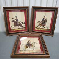 Vintage Catalda Fine Arts Inc N.Y. Prints Military Regiment Royal Framed Set