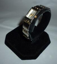Ladies Guess G65039L Dual Tone Grey Dial Quartz Watch Link Clasp Band