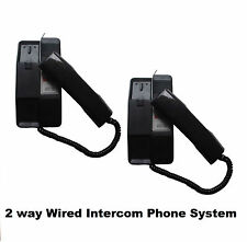 Direct Call Hot Line 2 Way Electronic Intercom and Door Phone for Office Home