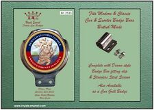 Royale Classic Car Badge & Bar Clip ST CHRISTOPHER B1.2533