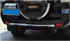 For Toyota Prado FJ150 2010-2017 Car Chrome under rear bumper cover trim 1pcs