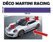 "3 bandes - Le Mans Martini Racing style Stripe ""universel*"" Sticker bandes"