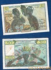 Afrique Occidentale et Togo - 50 Francs Type 1956 V.59 Qualité TTB