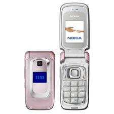 BRAND NEW NOKIA 6085 Pink UNLOCKED GSM Quadband Bluetooth Flip Worldphone