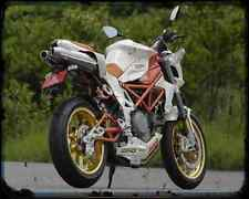 Bimota Db6C 1098 4 A4 Metal Sign Motorbike Vintage Aged