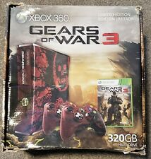 Microsoft Xbox 360 S 320GB Gears of War 3 Limited Edition Boxed Console