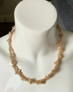 Mother of Pearl,  Freshwater Pearl Necklace, Handmade with Free Shipping!
