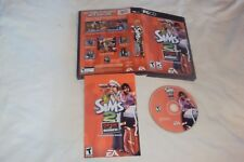 SIMS 2 OPEN FOR BUSINESS PC Disc Manual Art And Case Near Mint Has Install Code