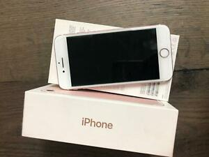 Apple iPhone 7 - 128GB - Pink (Unlocked) For Parts Exc Condition With Box