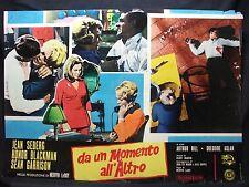 FOTOBUSTA CINEMA - DA UN MOMENTO ALL'ALTRO - J. SEBERG, H. BLACKMAN -1966- DRAMM
