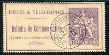 STAMP / TIMBRE FRANCE TELEGRAPHES ET TELEPHONES OBLITERE N° 22