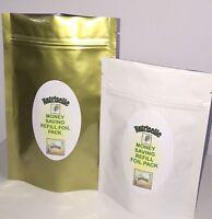 Brahmi Vegetarian 750mg x 90 Capsules 100% Pure - Economic Refill Pack