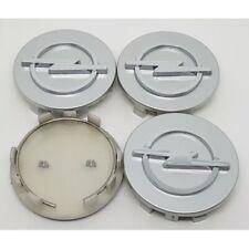 4 x 65mm Silber Nabendeckel Felgendeckel Allufelgen Wheel Cap für OPEL