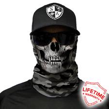 SA COMPANY Grey Military Camo Skull Face Shield Schal Maske Bandana BLITZVERSAND