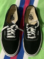 Vans Off the Wall mens 8 Black Skateboard shoes